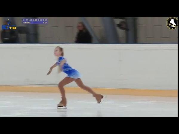 Полина ПОПОВА (2007) КП, 1-СП Турнир на призы ЗТ СССР и России В.Н. Кудрявцева