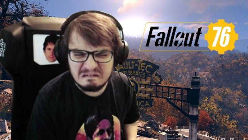 Мэддисон играет в Fallout 76 beta - Мистер Говард сделал гвно?
