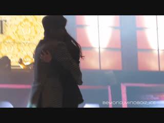 20160116【Minoz World in Seoul】Lee Min Ho gives a hug to make his fan dream comes true