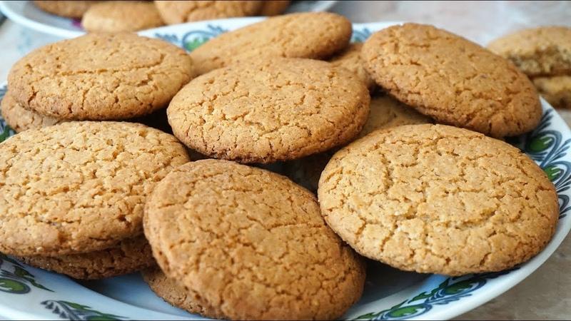 ОВСЯНОЕ ПЕЧЕНЬЕ по ГОСТу как магазинное Oatmeal cookies