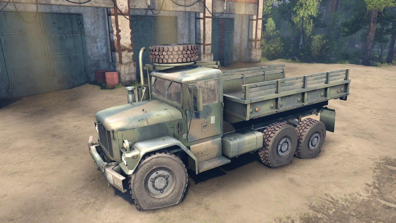 Армейский грузовик M35A2 для Spintires - Скриншот 3