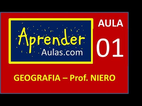 GEOGRAFIA - AULA 1 - PARTE 1 - PONTOS DE ORIENTAÇÃO. COORDENADAS GEOGRÁFICAS
