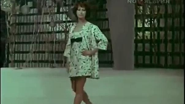 Майя Плисецкая и мода (1969)