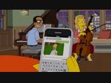 Даже Гомер использует гифки с мемом из «Симпсонов»