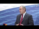 Сергей Неверов о поправках в закон о выборах депутатов Госдуму