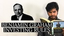 7 Rules of Value Investing of Benjamin Graham Investing For Beginners