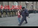 Жесткие задержания и избиения митингующих полицаями на акции Дожить до пенсии 9.09.2018 в России