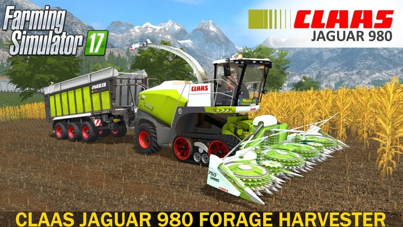 Farming Simulator 17 CLAAS JAGUAR 980 FORAGE HARVESTER