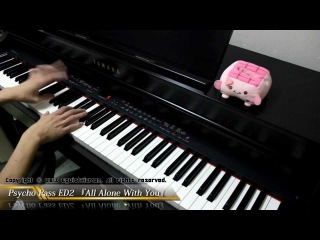 Psycho Pass ED2 - All Alone With You Piano Cover