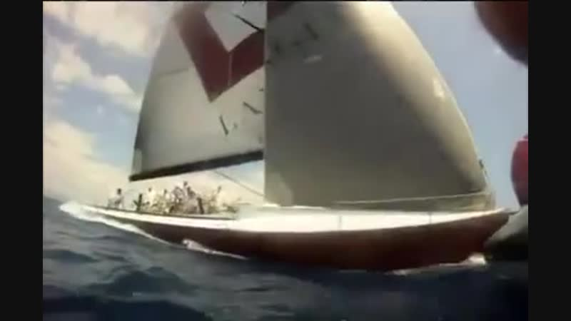 Дрифт на яхте!