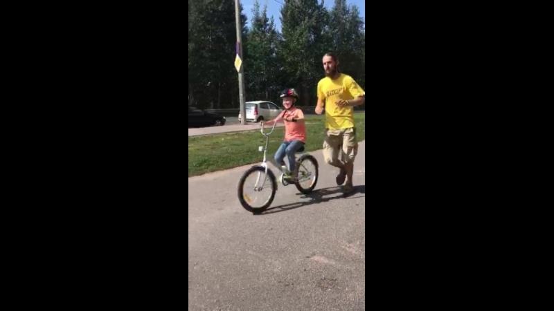 Велоурок с Иваном (8 лет).