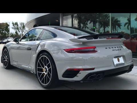 2018 Chalk Porsche 911 Turbo S 580 hp @ Porsche West Broward