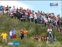 Вести-Курск. Рев моторов в Курске прошел этап чемпионата России по автокроссу - Вести 24
