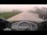 Volvo Wagon goes 190mph! AKA Volvette outruns 04 Yamaha R1