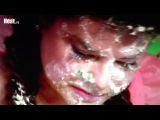 Александр Олешко поранил глаз Наташе Королёвой окунув ее в торт с раскаленной карамелью. ФОТО. ВИДЕО