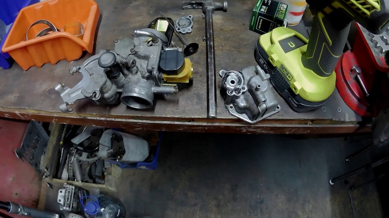 О мастерстве механиков салона МОТОСЕРП на примере карбюратора Yamaha TTR
