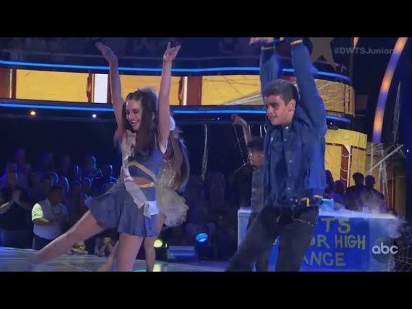 Mackenzie Ziegler (Kenzie) Sage Rosen - Dancing With The Stars Juniors (DWTS Juniors) Episode 4