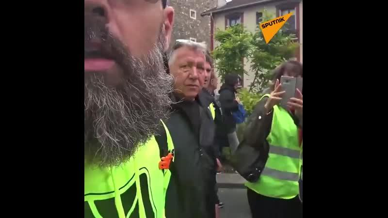 Jérôme Rodrigues sur les six mois des manifestations des Gilets jaunes «On fête quoi là On n a rien.mp4