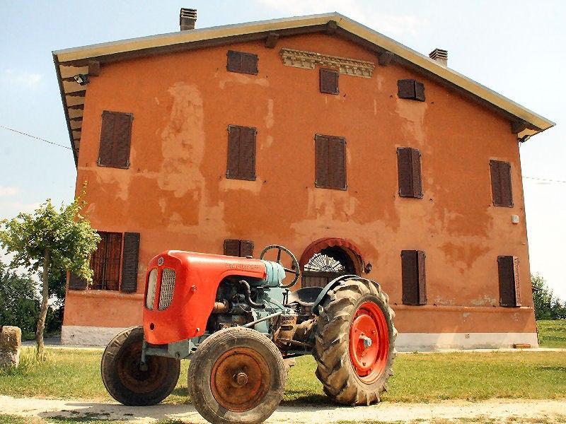 Дом в котором родился Ферруччо Ламборгини