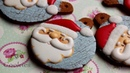 Santa Claus Galleta Navidad - Santa Christmas Cookies