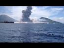 Мощный взрыв на вулкане Тавурвур (Папуа-Новая Гвинея, 29 августа 2014)