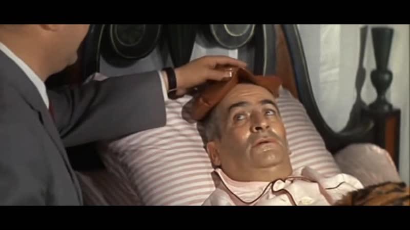 «Фантомас против Скотланд-Ярда» (1967) - комедия, криминальный, реж. Андре Юнебелль HD 1080