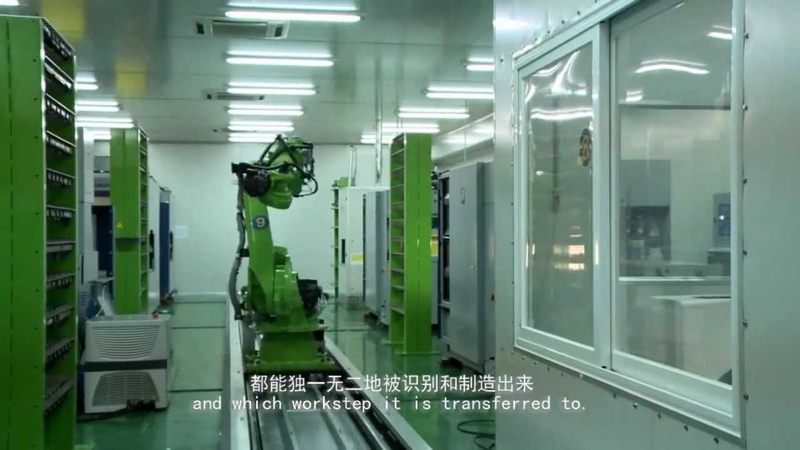 OPS-Ingersoll ROBOLINE @ Shenzhen Changhong Technology Co., Ltd. - 金型自動加工ROBOLINE