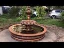 Парковый фонтан в жилом дворе района Печатники Москва