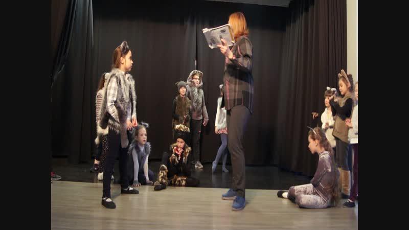 Поменяли начало спектакля,в роли Коментатора оказалась Иванова Н.В.9.02.2019