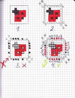 Схемы для фенесек-конфеток
