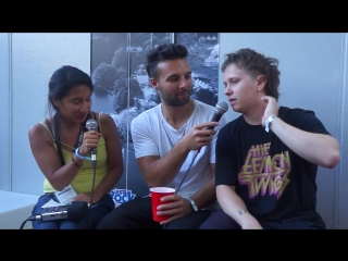 Nothing But Thieves Sarah's Interview Eurockéennes