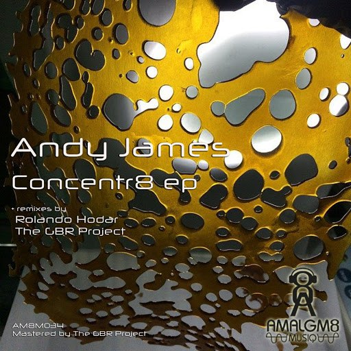 Andy James альбом Concentr8 ep