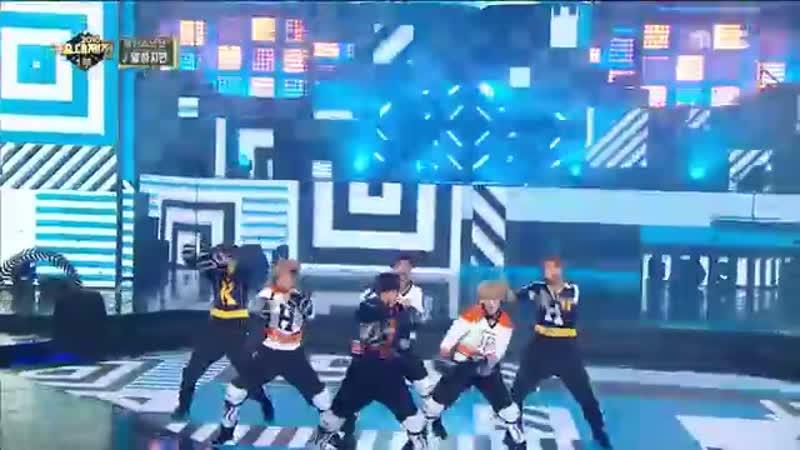 2016 MBC 가요대제전 눈을 사로잡는 완벽 퍼포먼스 방탄소년단의 말하자면