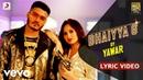 Yawar Bhaiyya G Official Lyric Video Ft Jannat Zubair Rahmani Filtr Fresh