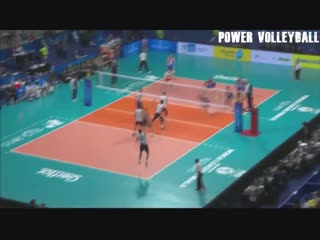 Monster volleyball first time attacks (hd)