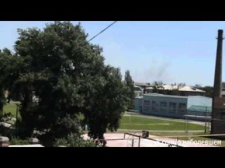 Красный Лиман: обстрел 01.07.2014