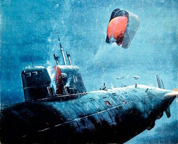 Советская атомная подводная лодка