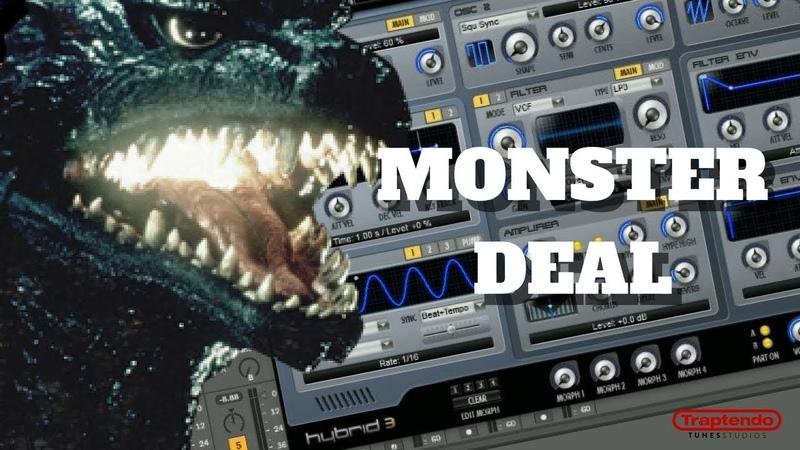 Monster One Dollar Plugin Deal Hybrid 3 Plugin Boutique Preset Tour