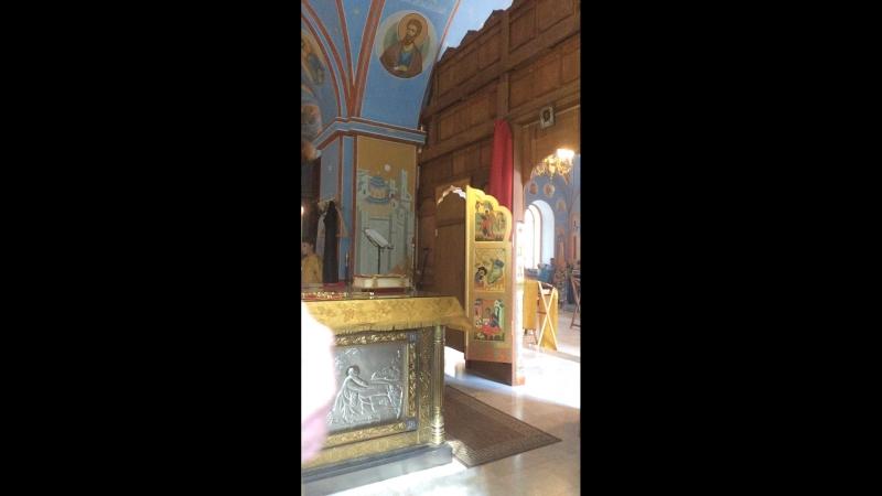 Пронский монастырь. Божественная литургия