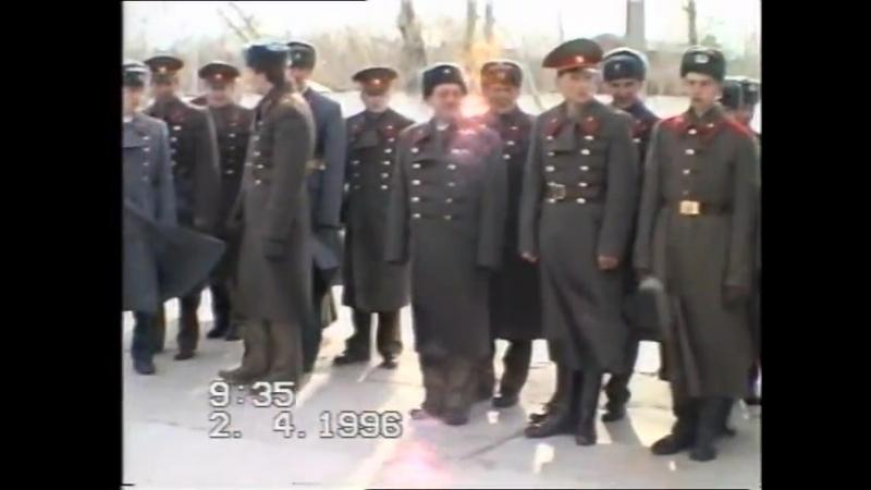 VTS_01_1 ст. Даурия. Принятие присяги в 122 ПУЛАД на плацу Порт-Артурского полка