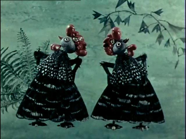 Здравствуйте тетя Лиса 1974 Кукольный мультфильм Золотая коллекция