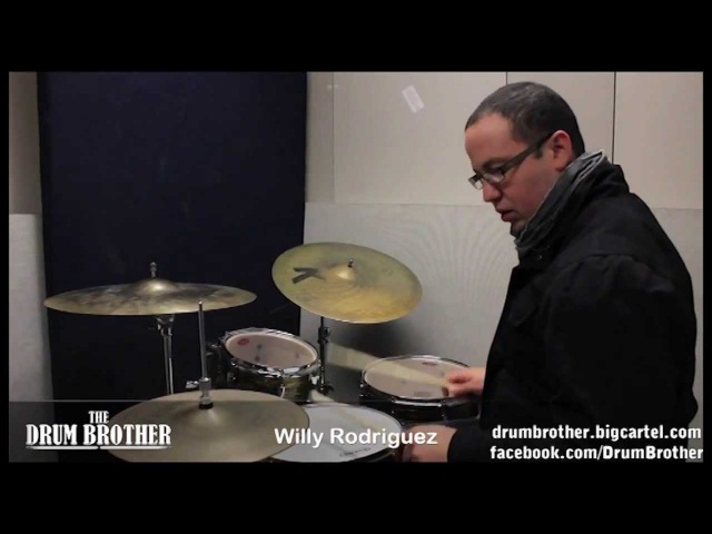 Drum Chops by Spanky McCurdy and Tony Williams - Willy Rodriguez - The DrumHouse meets Berklee