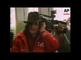 Michael Jackson Scoping Out Pretty Girls in Budapest 1996