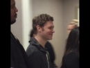Joseph Morgan on TVDNJ