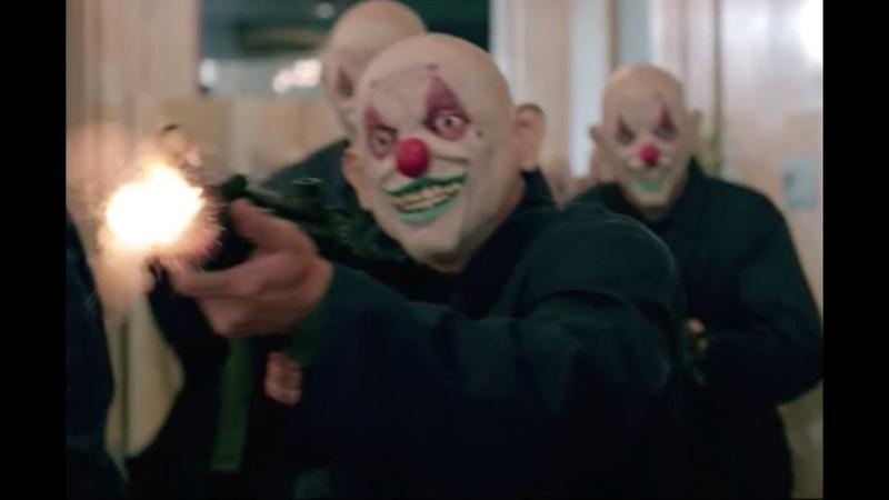 Strike Back - Clown Bank Robbery