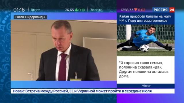 Новости на Россия 24 Страны Запада намерены подорвать авторитет ОЗХО