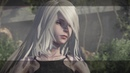 Nier: Automata Route C - Loss: 9S Sees A2 As She Ends 2B's Suffering Killing Her Oh Nines Cutscene