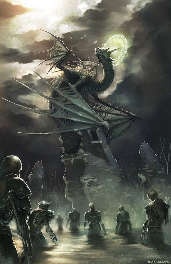Дракон-некромант