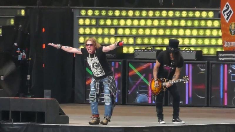 Guns N' Roses - Live @ Moscow 13.07.2018