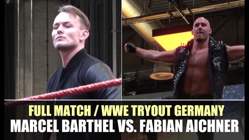 Full Match from WWE Tryout Germany: Marcel Barthel vs. Fabian Aichner
